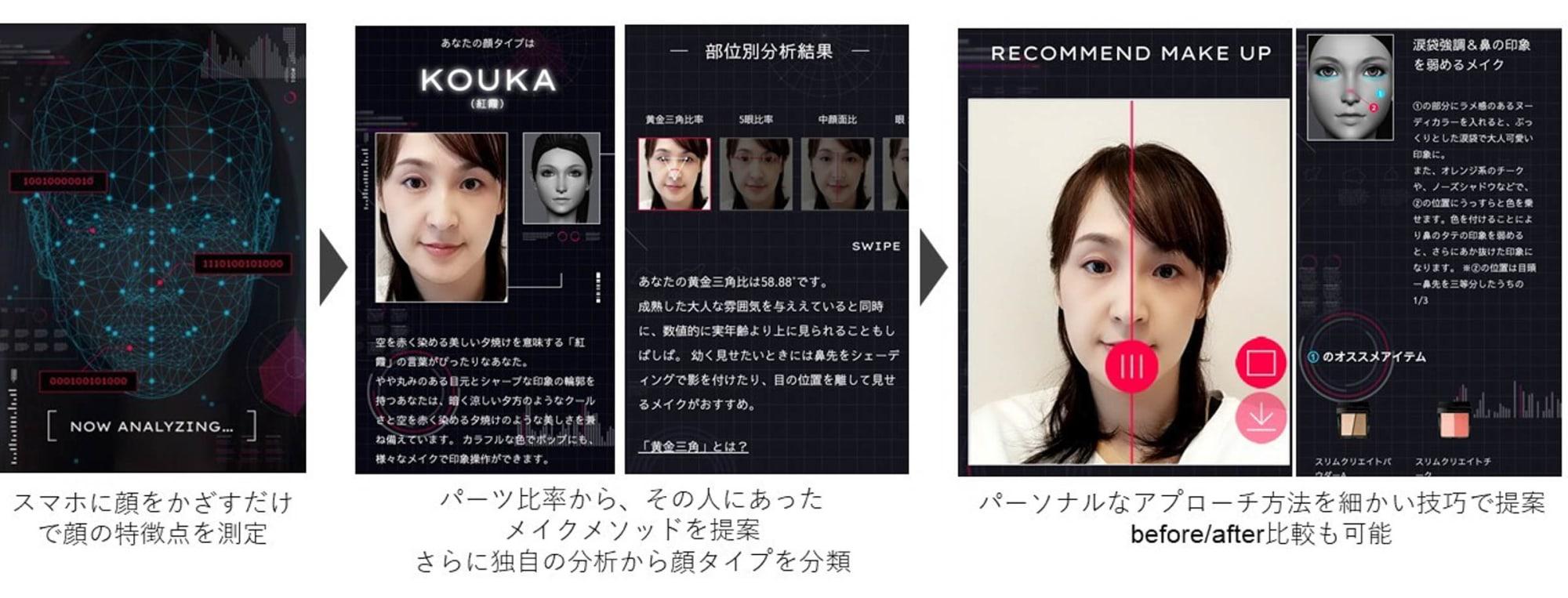 Kate 顔 診断 「KATE」が顔タイプの診断サービスを開始、似合うメイクを提案:マピ...