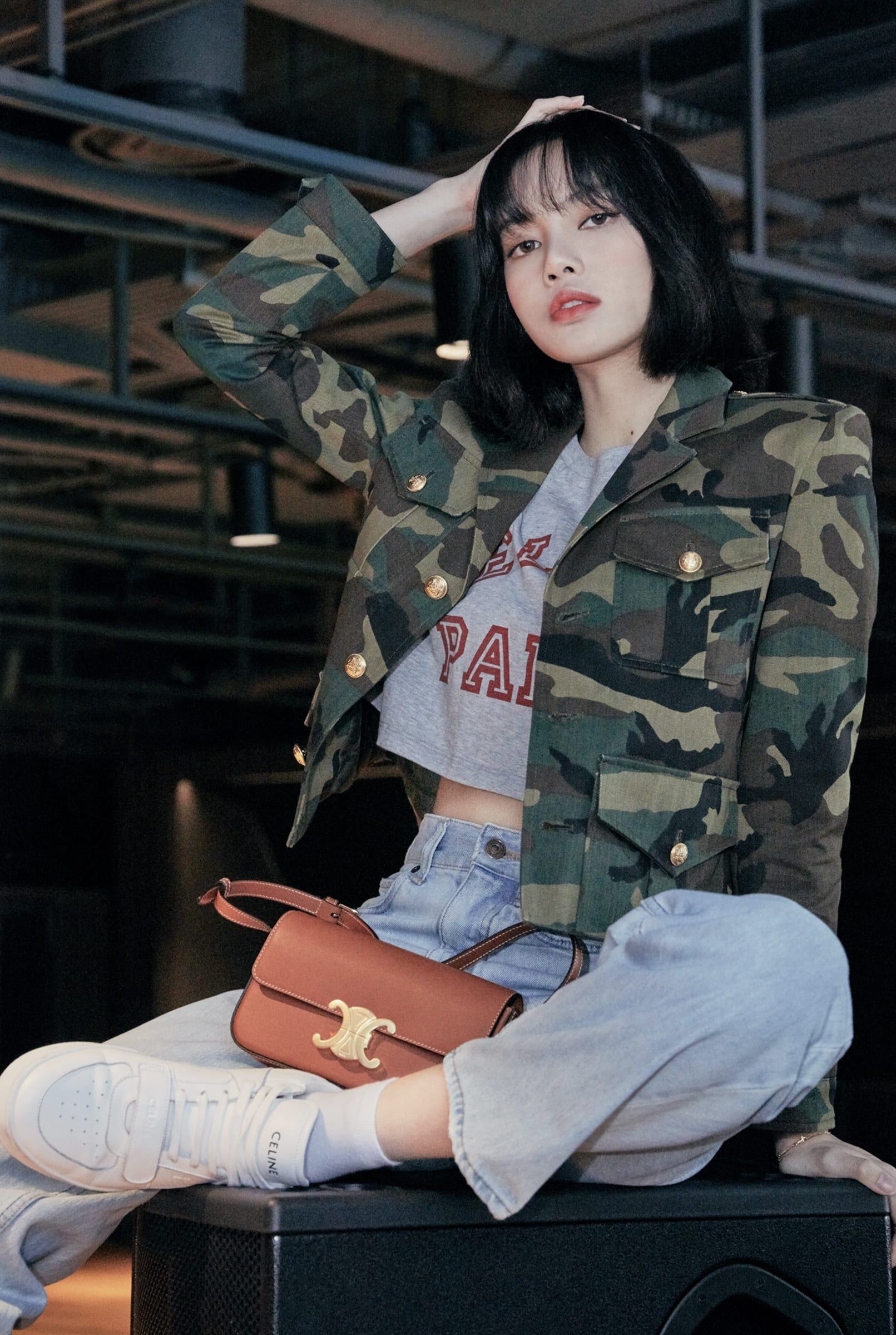 Blackpink リサ 黒髪