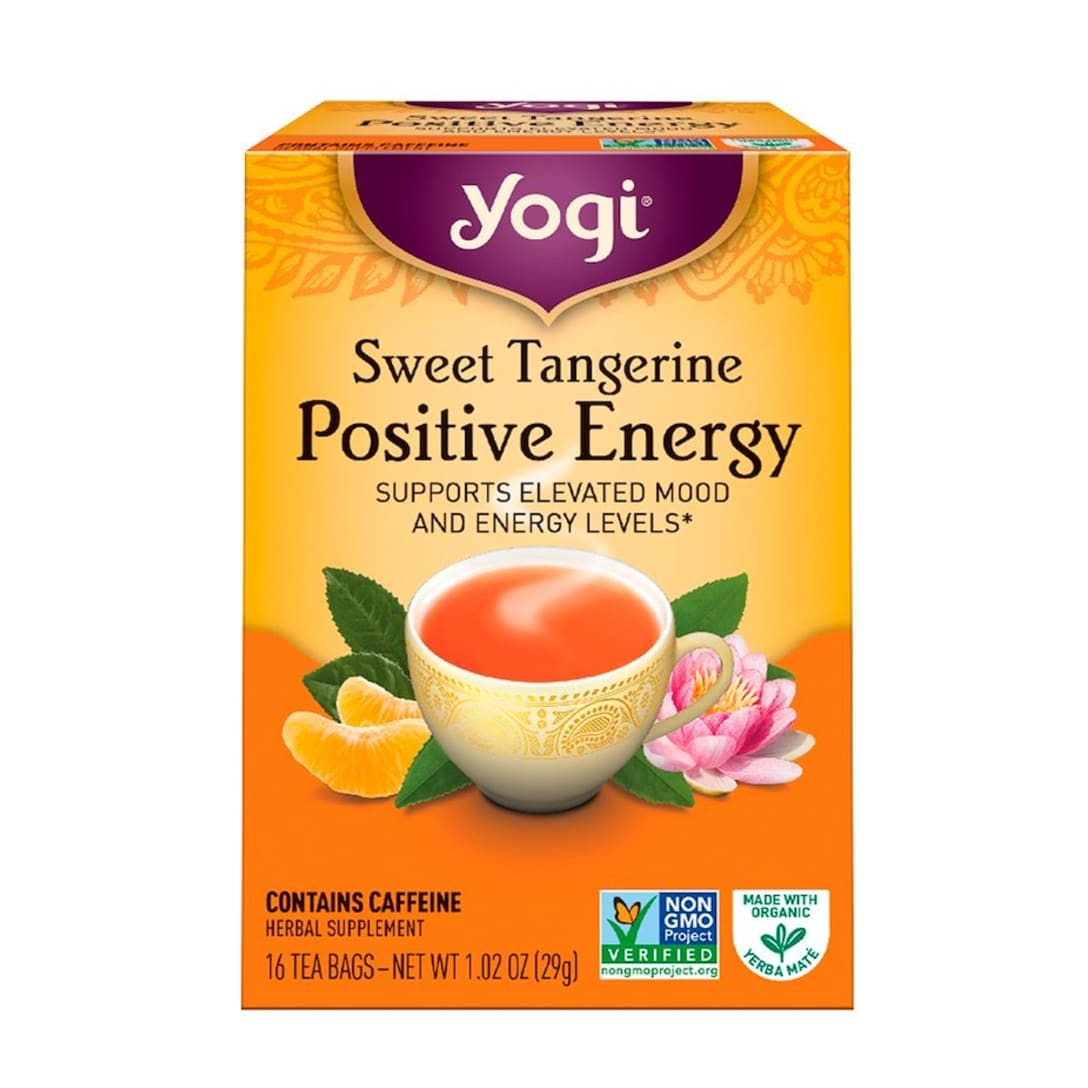 Yogi Tea ポジティブなエネルギー スイートタンジェリン ¥472