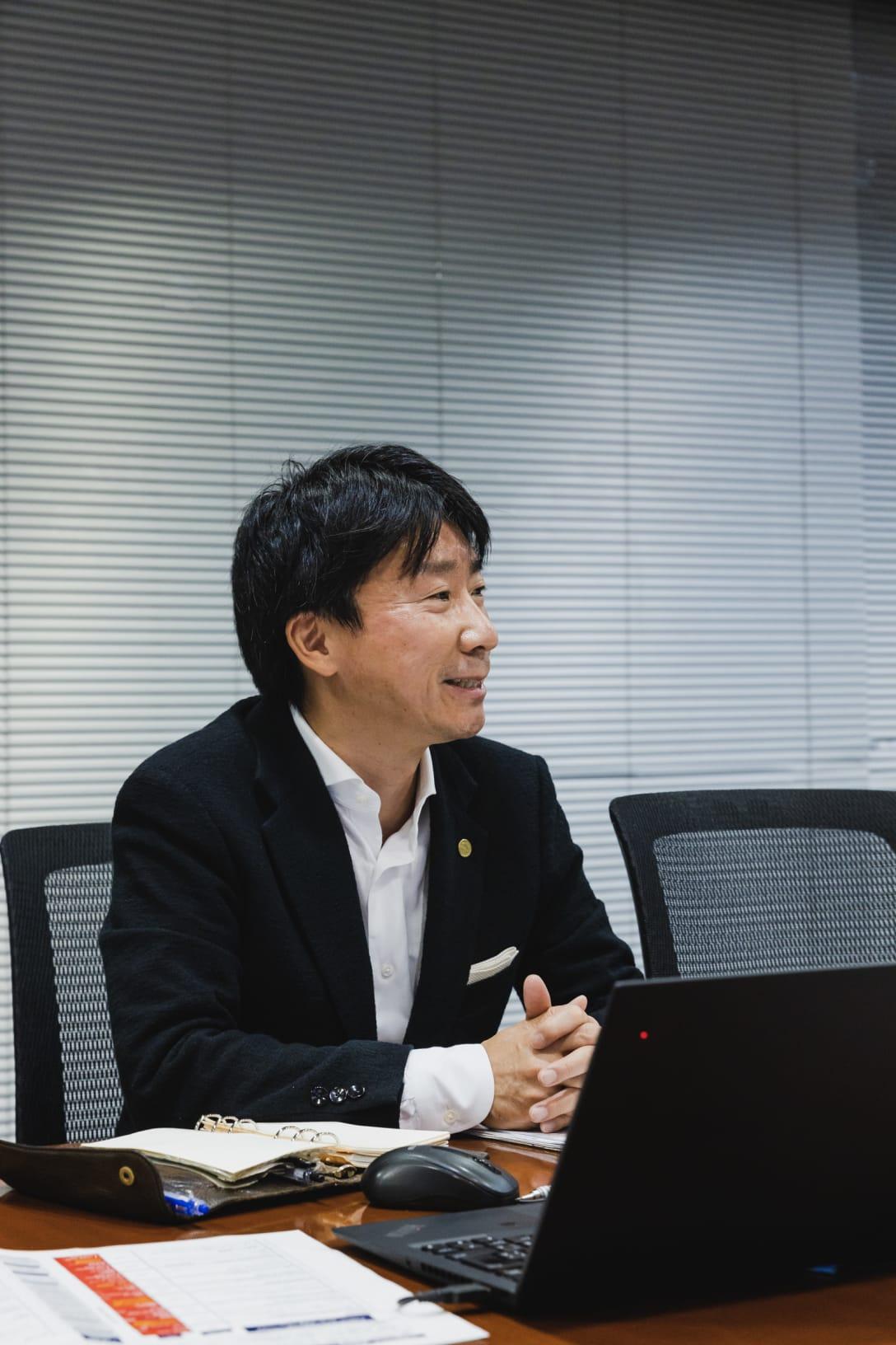 緒方道則氏 Image by FASHIONSNAP.COM