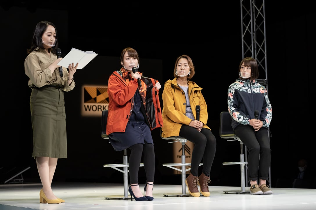 写真左から)Nozomi、Sally、ねこまる