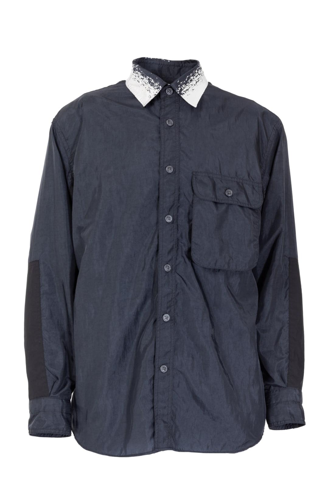 ポケッタブル オーバーシャツ(ホワイト・ブラック2色展開、各税別2万7000円)※写真はブラック