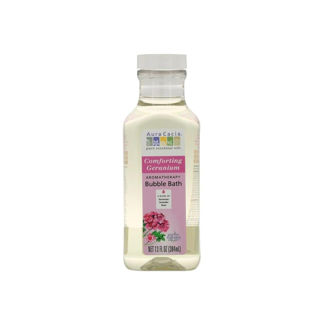 Aura Cacia Aromatherapy Bubble Bath Comforting Geranium(384ml)¥1,004