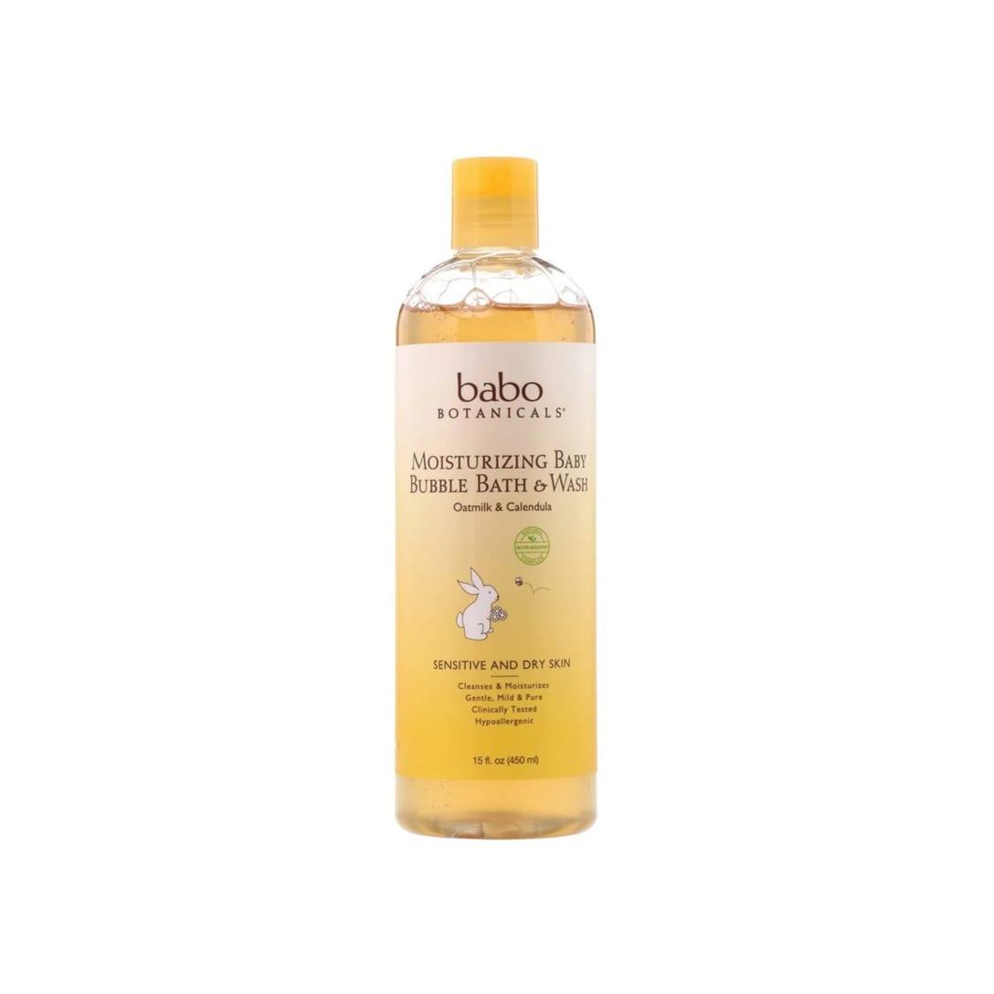 Babo Botanicals Moisturizing Baby Bubble Bath & Wash Oatmilk Calendula(450ml)¥1,345