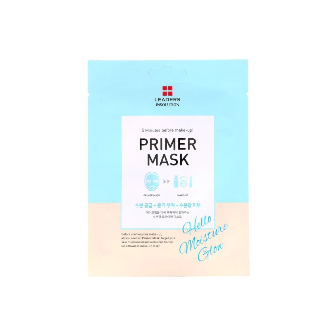Leaders Primer Mask Hello Moisture Glow(1シート)¥210