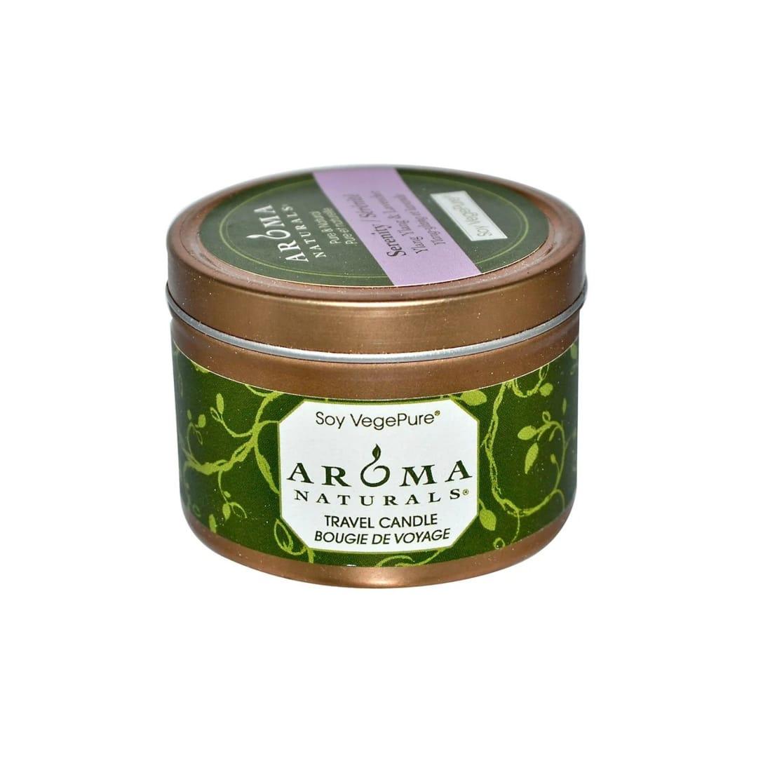 Aroma Naturals Soy VegePure Travel Candle Serenity Ylang Ylang & Lavender(79.38g)¥418