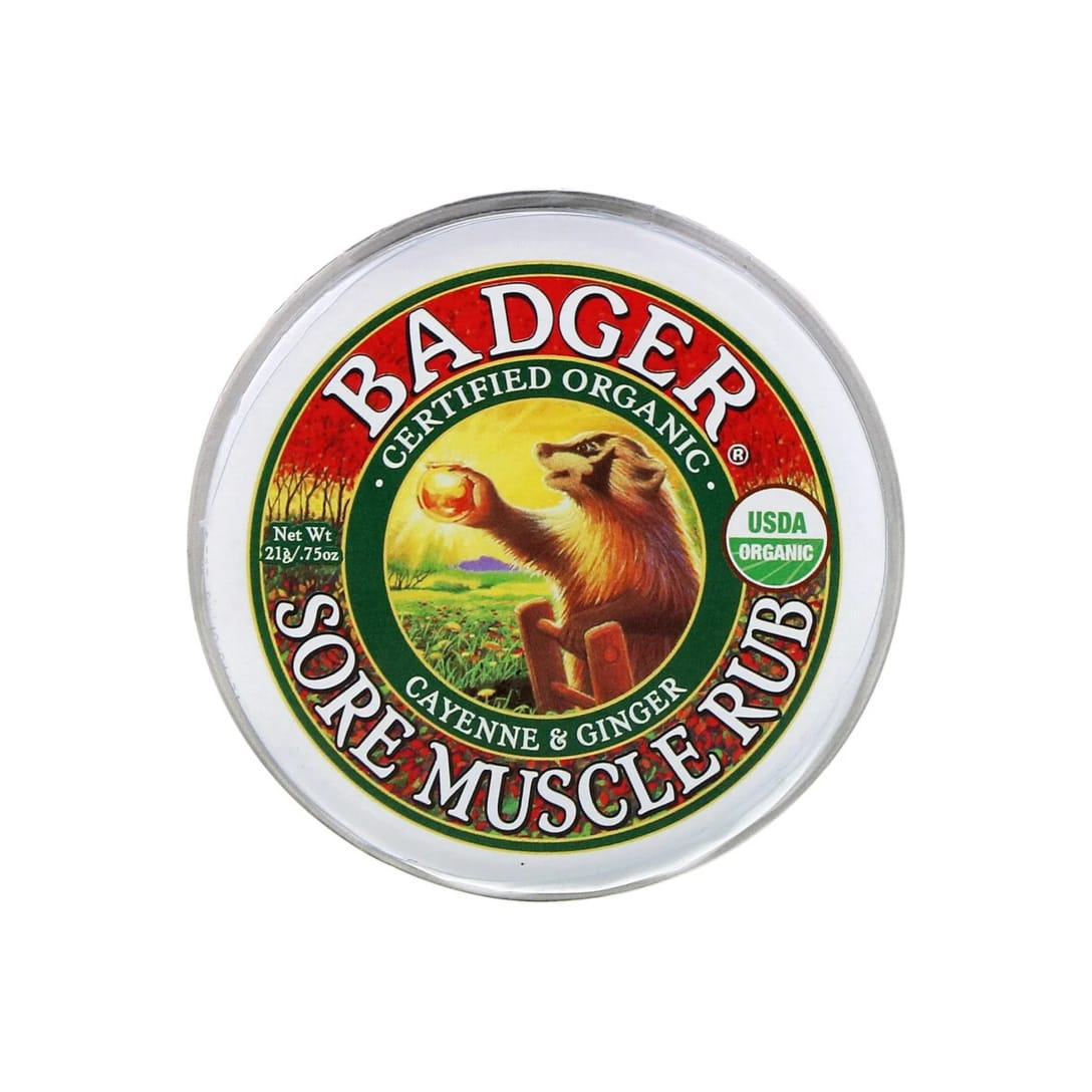 Badger Company Sore Muscle Rub Cayenne & Ginger(21g)¥536