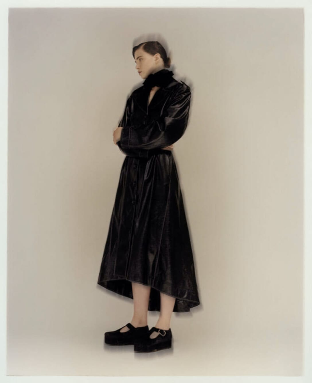 dress and shoes by ERDEM