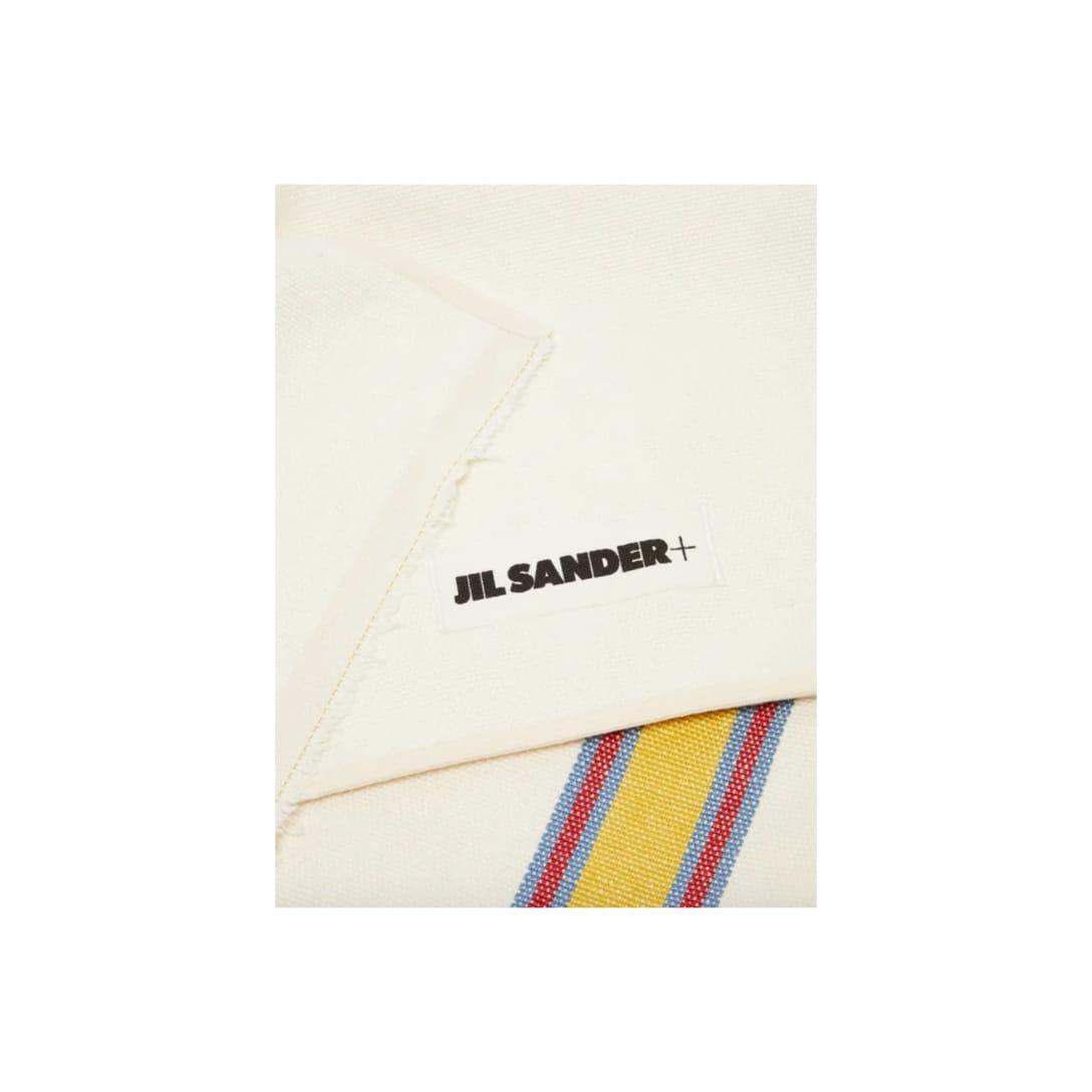 JIL SANDER ストライプ リネンキャンバス ブランケット ¥36,152(40%OFF)
