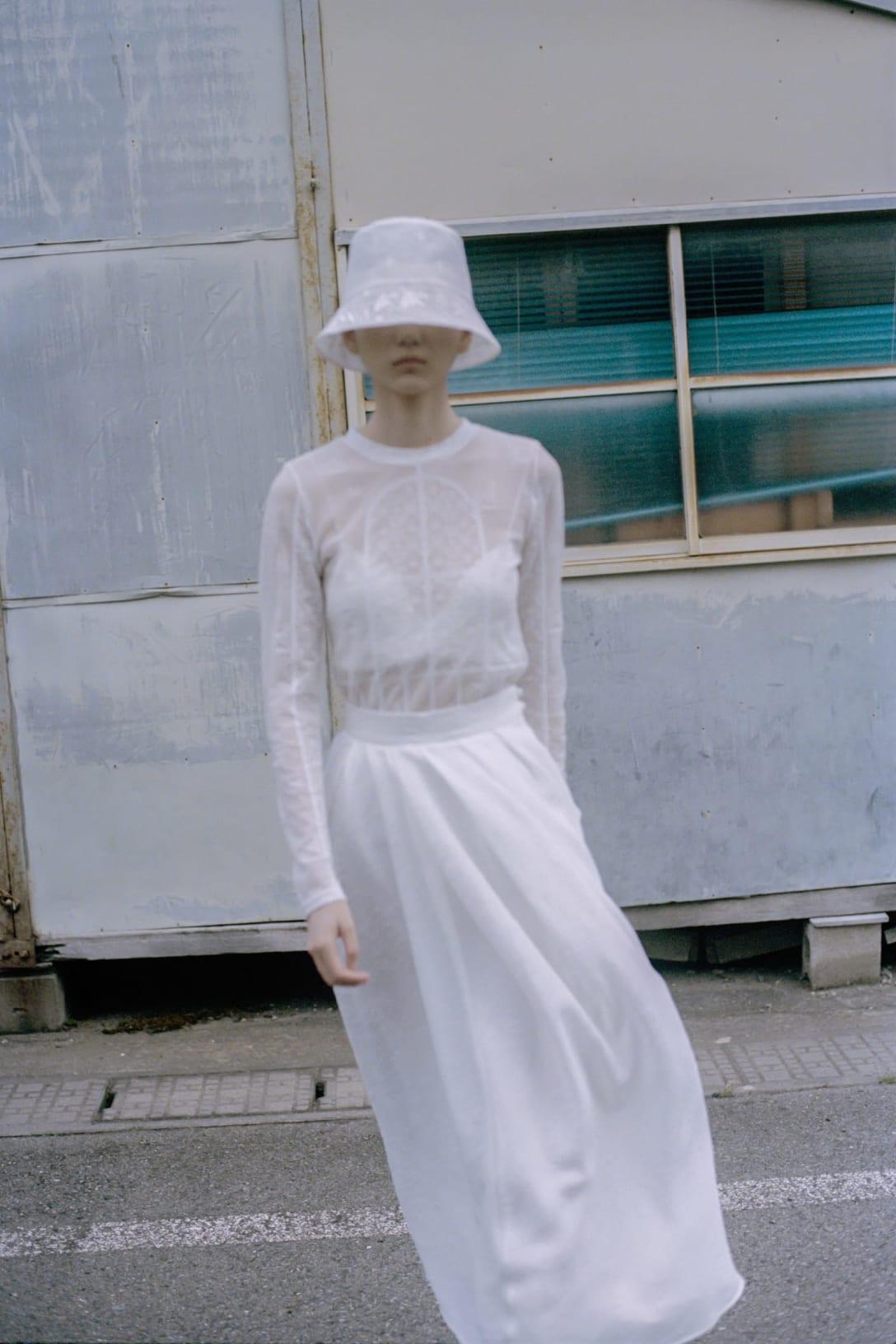 「Mame Kurogouch」2021年春夏コレクションより Image by Mame Kurogouchi