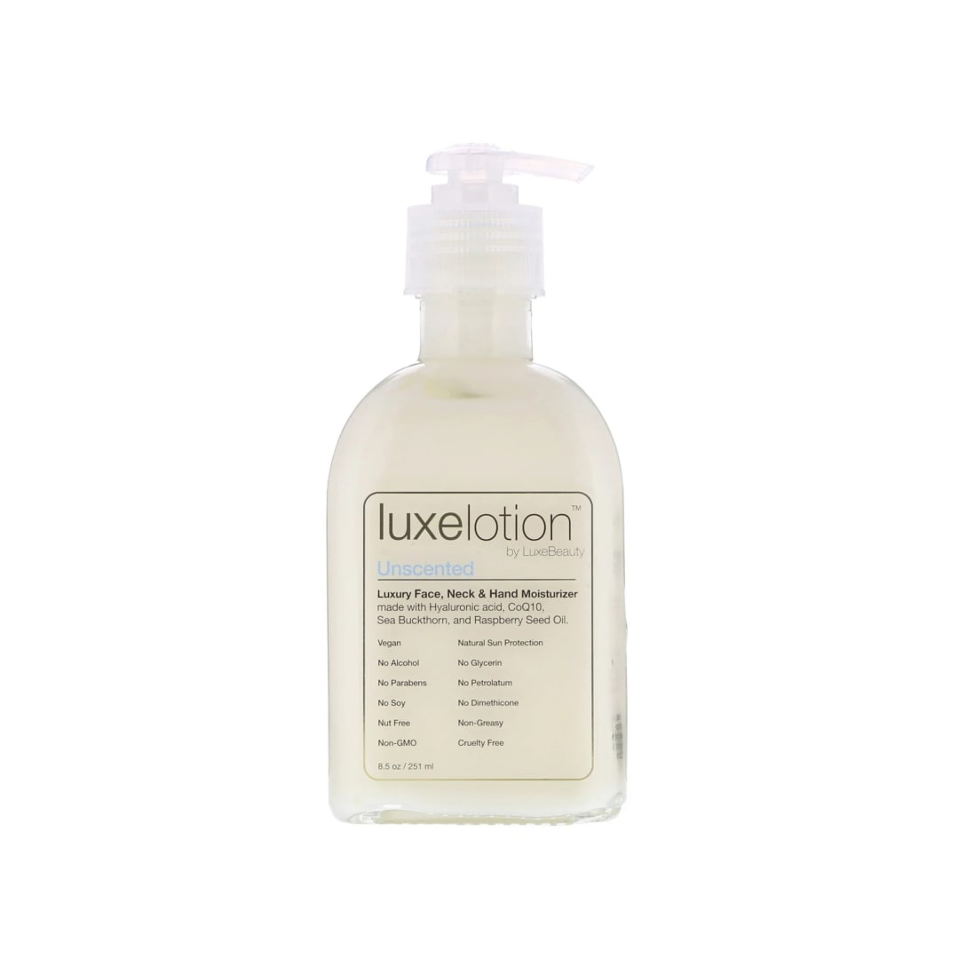 LuxeBeauty Luxe Lotion Luxury Face, Neck & Hand Moisturizer Unscented(251ml)¥3,992