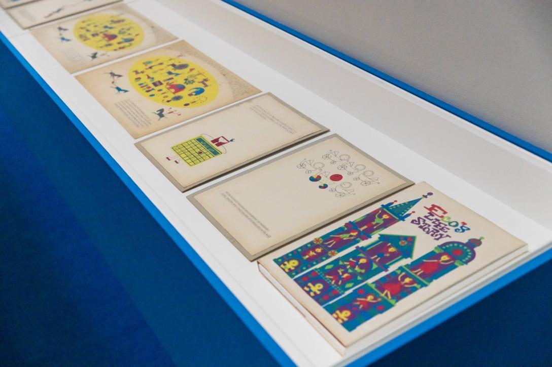 展示風景より 《えこの一代記》1957年頃 Library Special Collections. Charles E. Young Research Library. UCLA