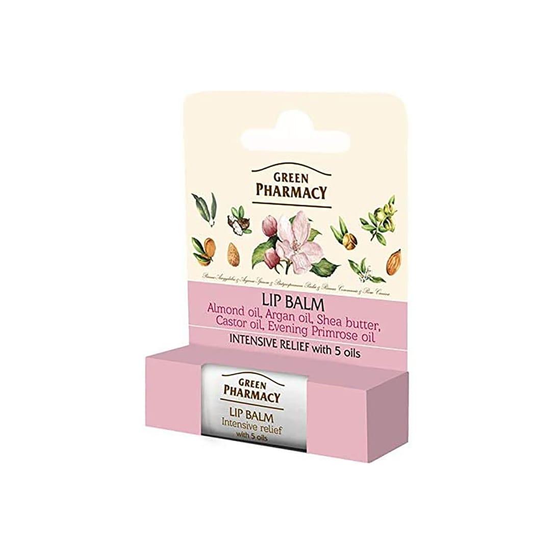 Elfa Pharm Green Pharmacy Lip Balm 5oils intensive releif 5オイルミックス ¥410