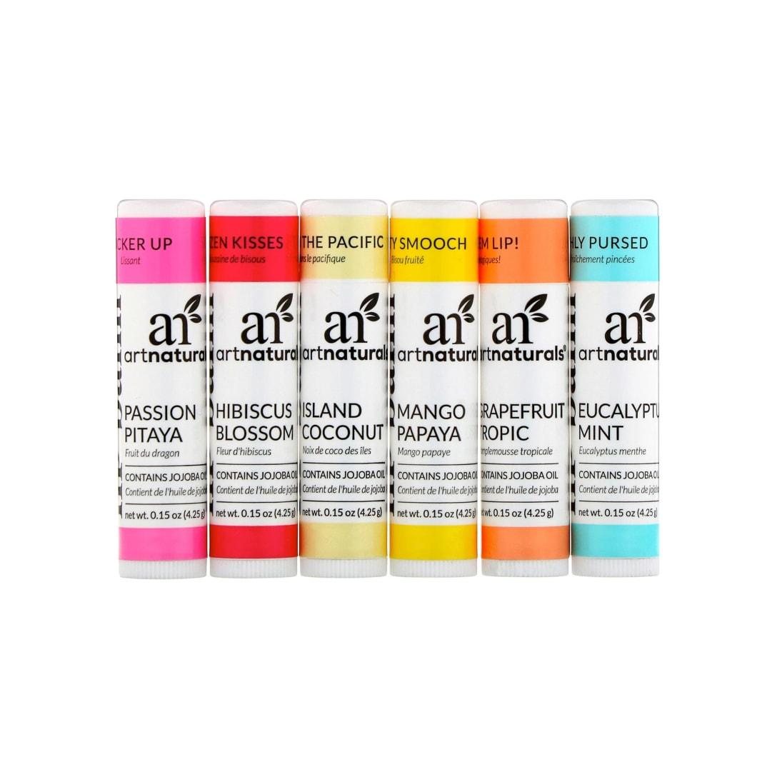 Artnaturals Lip Balm Set(6本セット)¥1,036