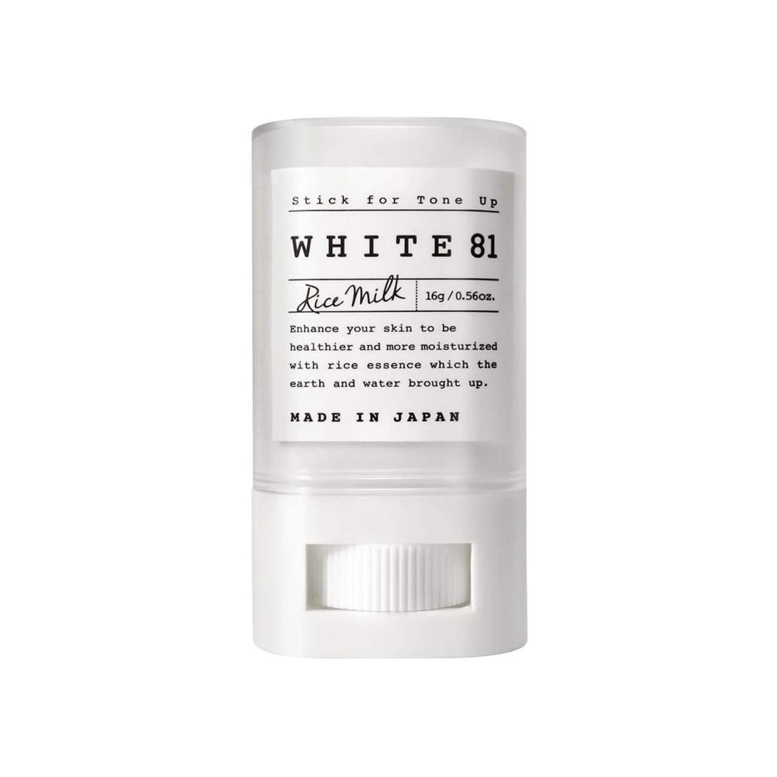 WHITE81 トーンアップ UV スティック(SPF35/PA+++)¥1,980