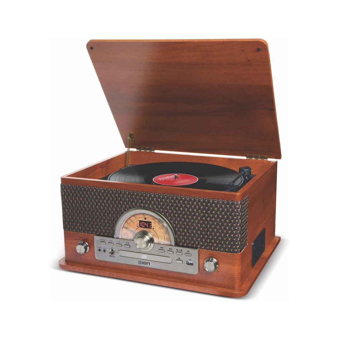 ION Audio レトロ調 ミュージックプレーヤー¥20,000