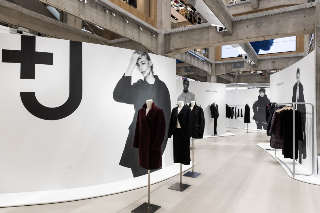 2020年秋冬コレクション発売時の「UNIQLO TOKYO」店内の様子 Image by FASHIONSNAP.COM