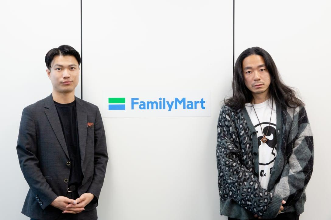 (写真左から)吉村直途、落合宏理 Image by FASHIONSNAP.COM
