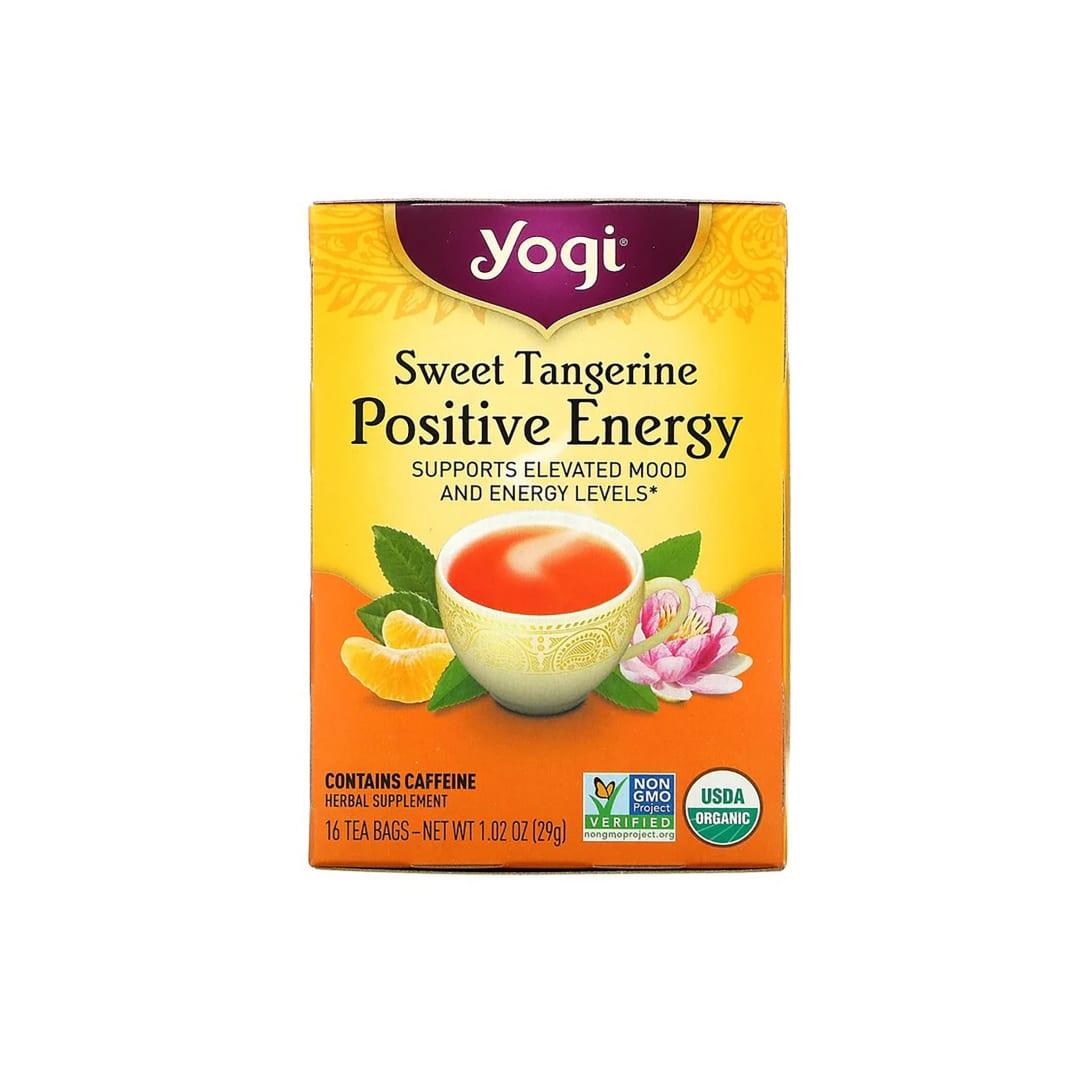 Yogi Tea Sweet Tangerine Positive Energy(16包入り)¥477