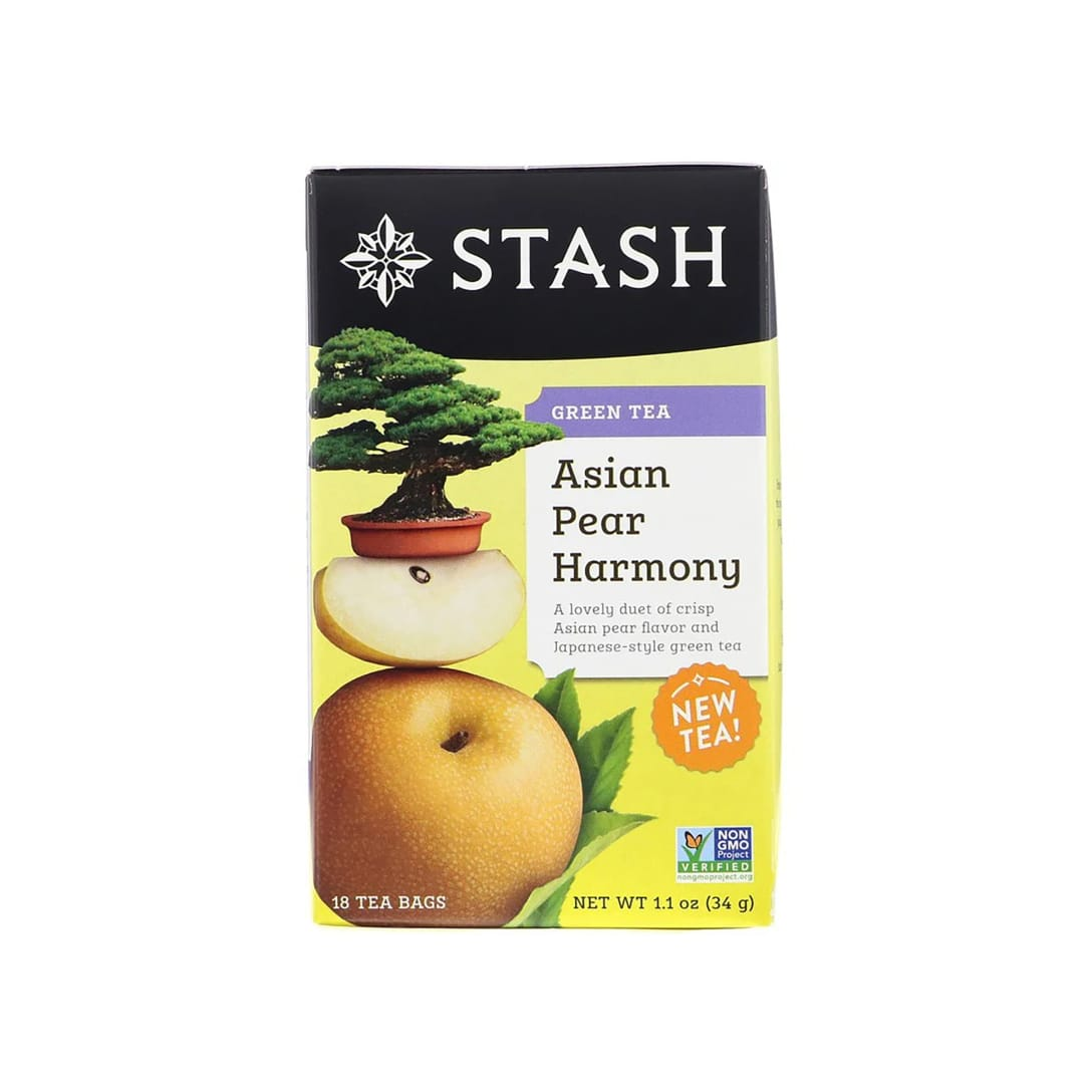 The Stash Tea Company緑茶 アジア梨ハーモニー(18包入り)¥378