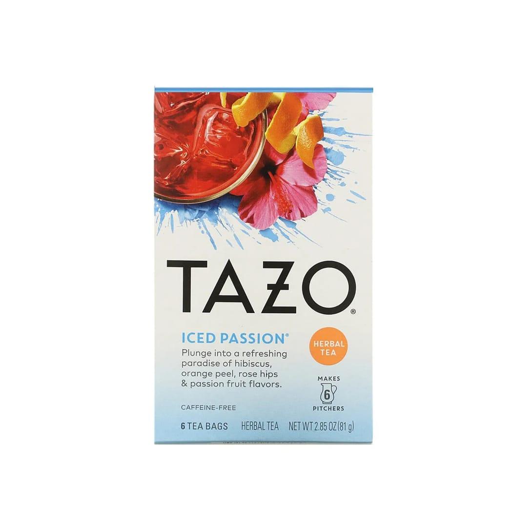 Tazo Teas Herbal Tea Iced Passion Caffeine-Free(6包入り)¥430