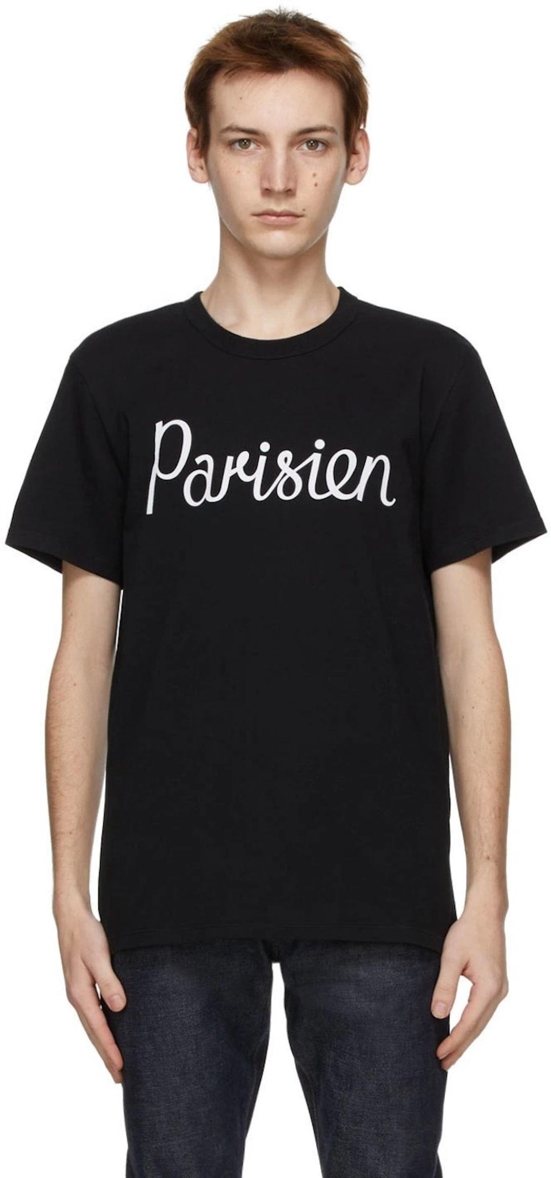 Parisien Classic T シャツ ※画像はブラック Image by SSENSE