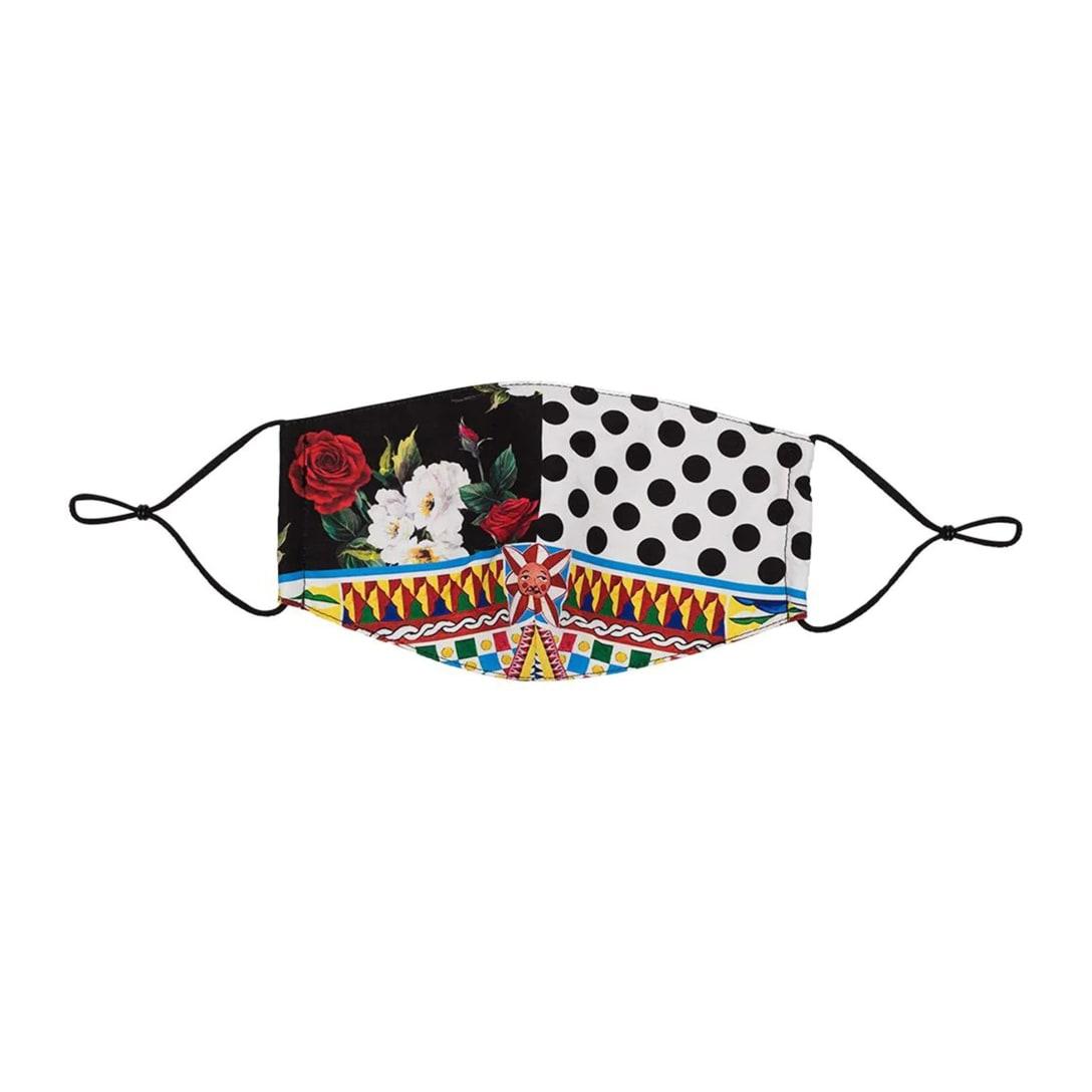 ドルチェ&ガッバーナ マルチパターン マスク ¥11,000