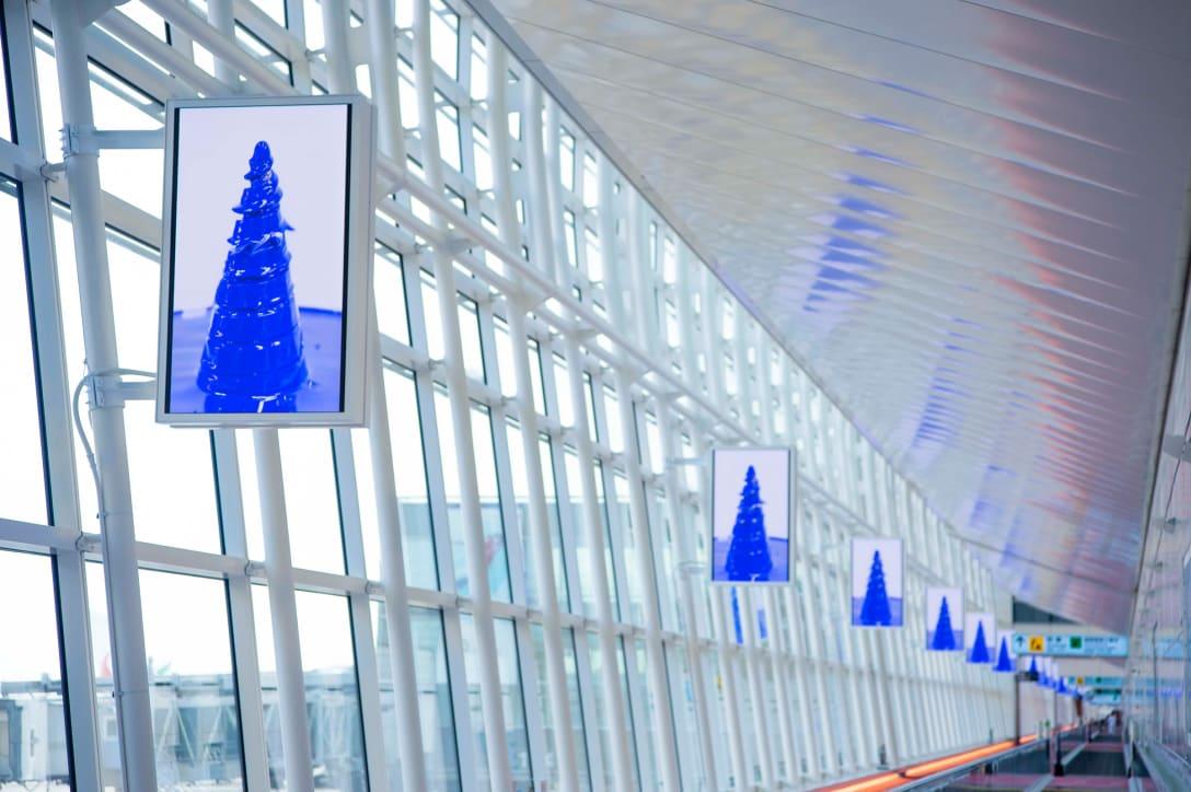 羽田空港コンコース photo by Kyosyu