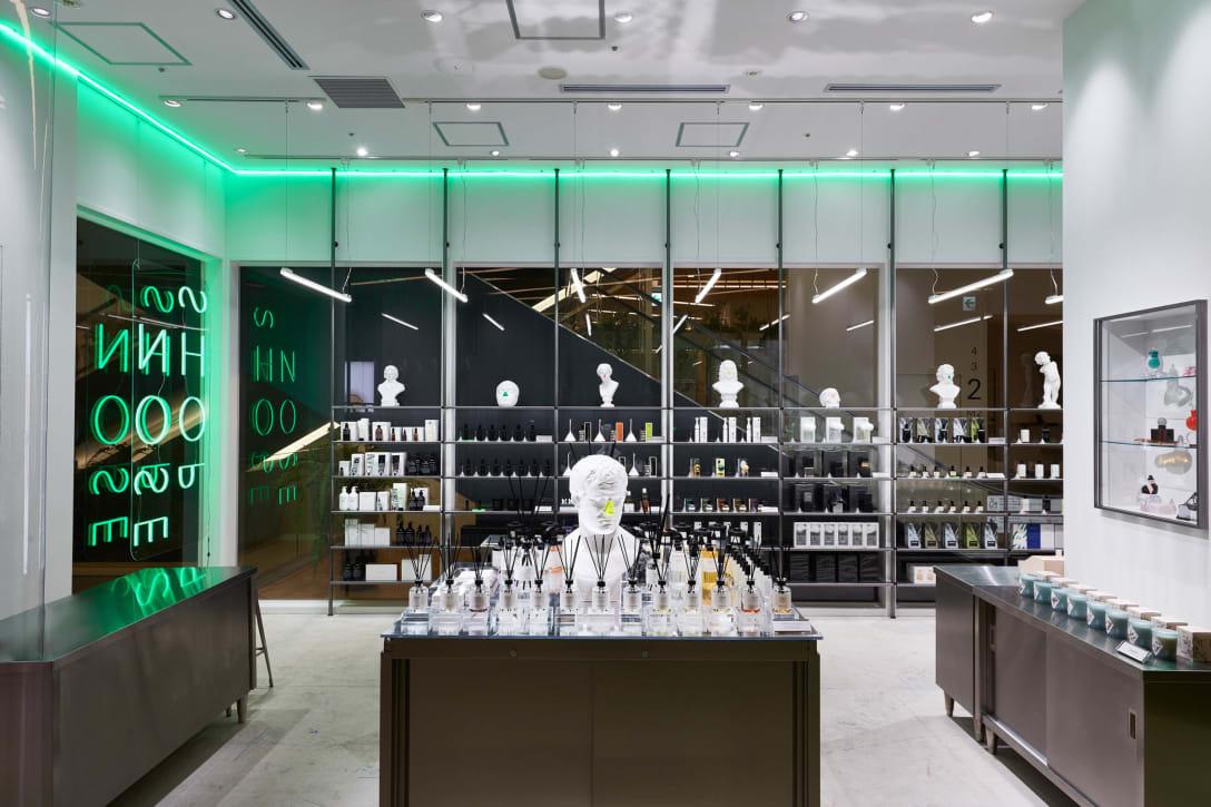 2018年にオープンした「ノーズショップ」ニュウマン新宿店