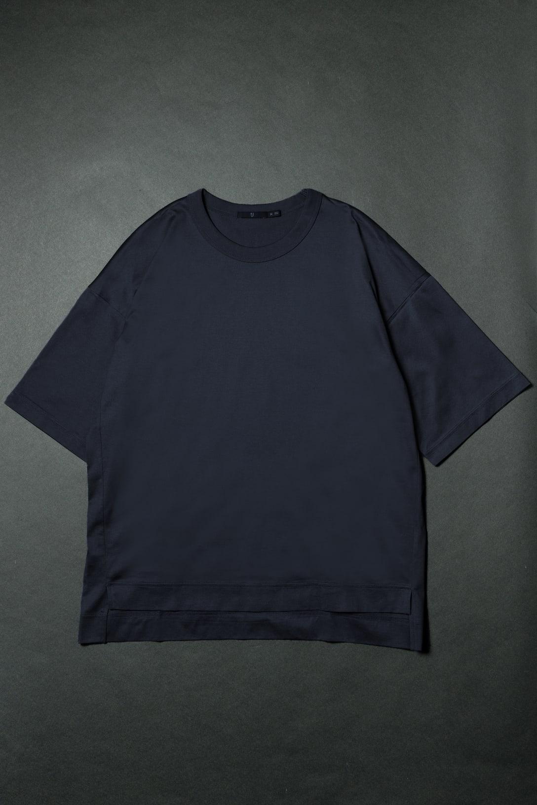 スーピマコットンオーバーサイズT 5分袖(1990円)※価格はいずれも税込