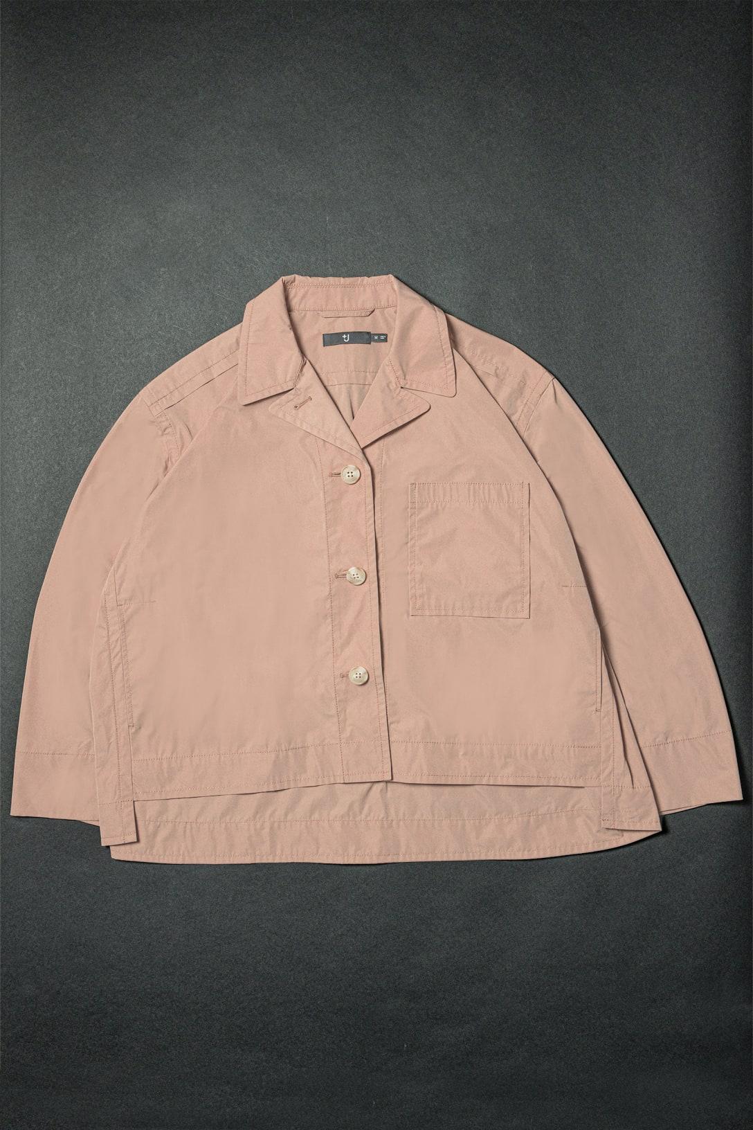 オーバーサイズシャツジャケット(6990円)※価格はいずれも税込