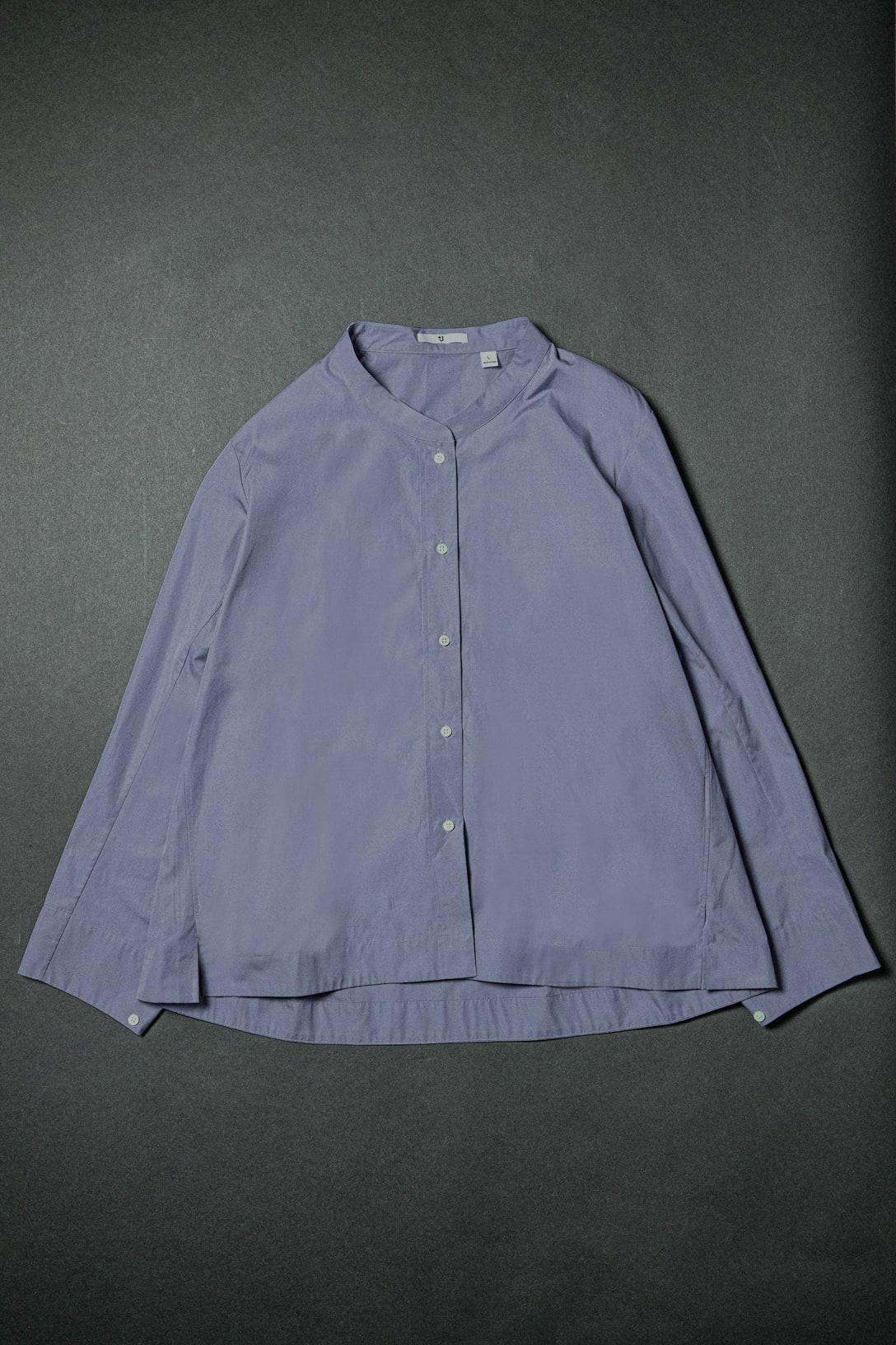 スーピマコットンシャツジャケット 長袖(3990円)