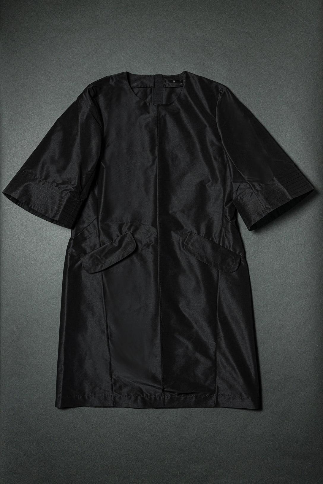 シルクブレンドワンピース(5分袖)(1万2900円)