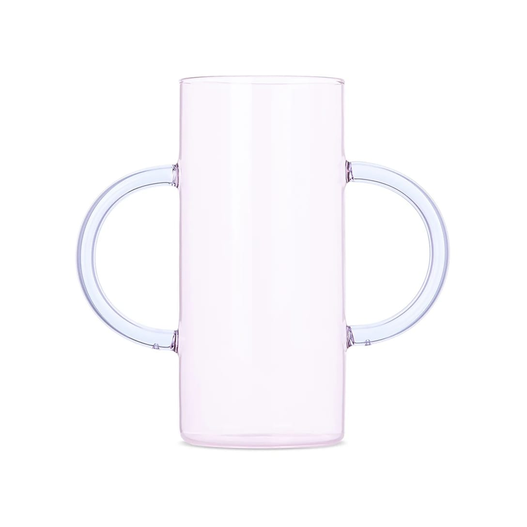 Sophie Lou Jacobsen ピンク ハンドル フラワーベース ¥28,500