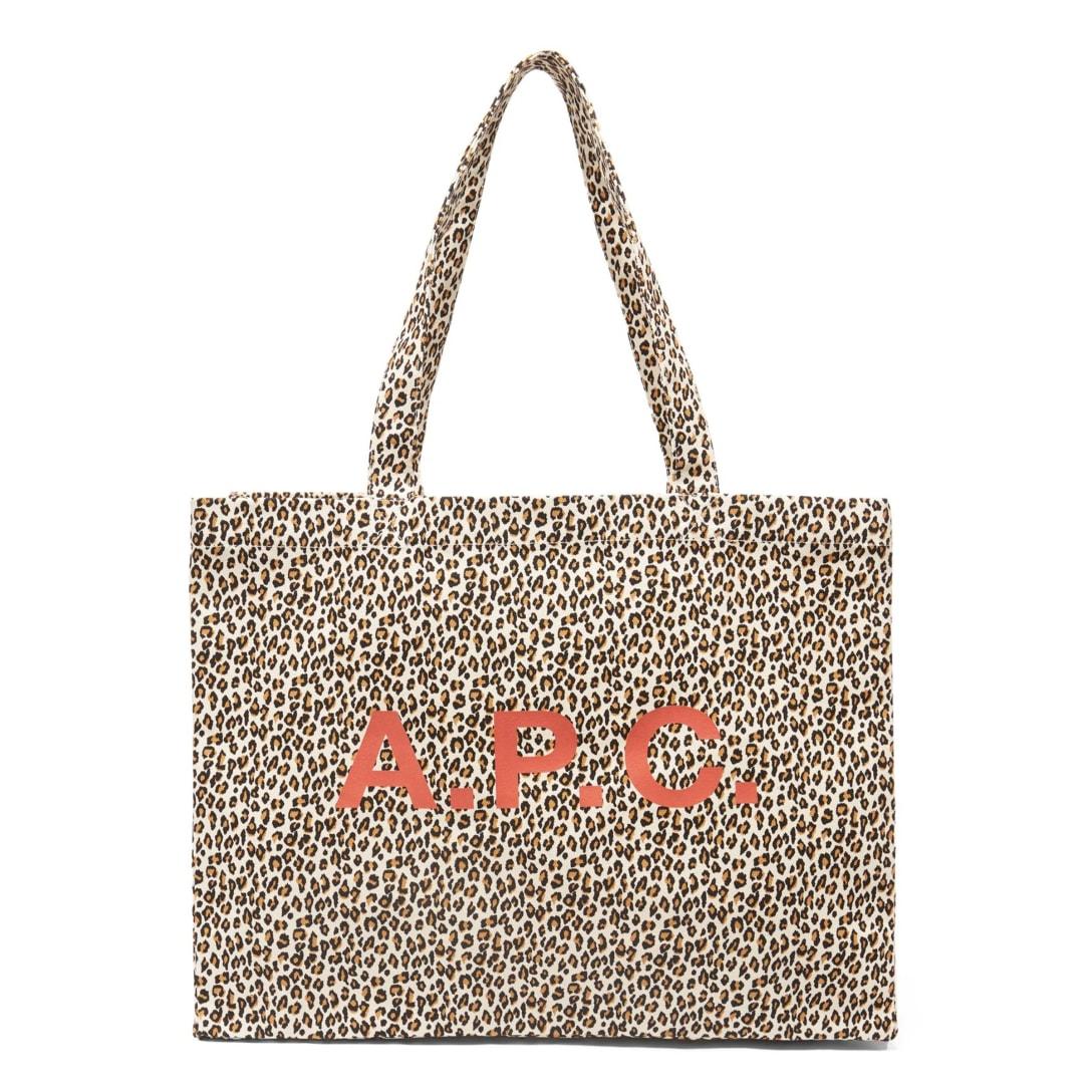 A.P.C. ダイアン レオパード キャンバストートバッグ ¥14,630(関税・消費税込)
