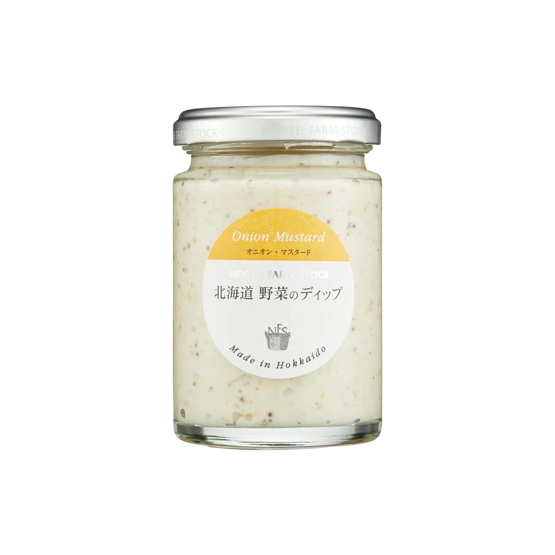 白亜ダイシン 北海道野菜のディップ・オニオンマスタード 120g×2個 1426円(消費税込)