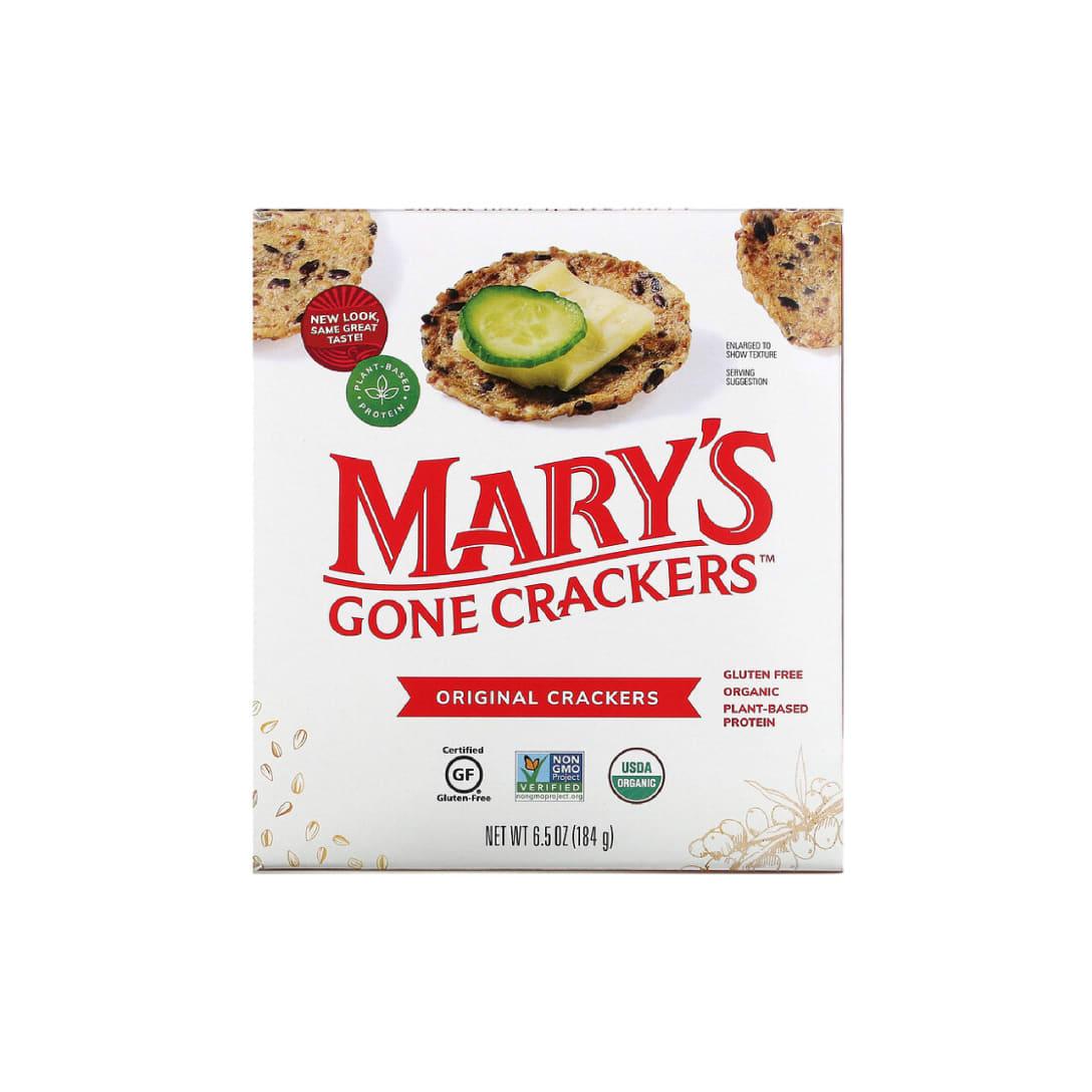 Mary's Gone Crackers, オリジナルクラッカー、184g(6.5oz)460円(関税・消費税込)