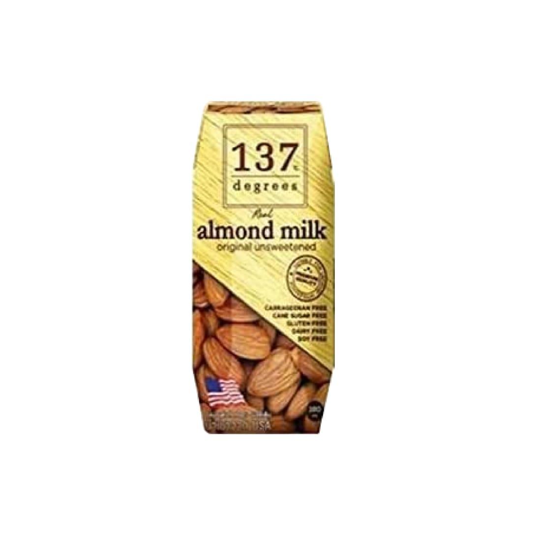 Haruna 137degreesアーモンドミルク(甘味不使用) 180ml×36本 ¥5,105(税込)