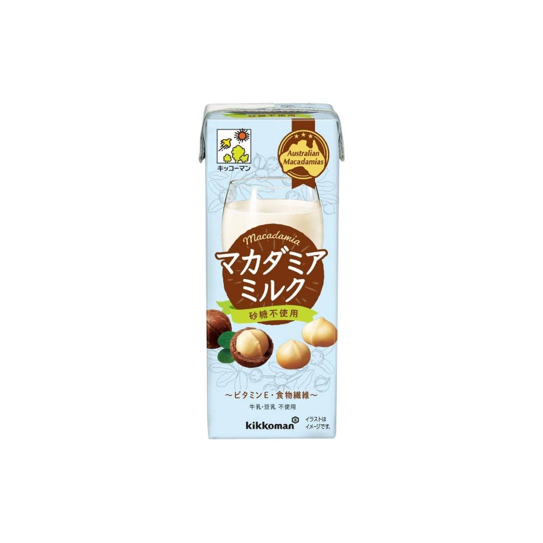 キッコーマン マカダミアミルク 砂糖不使用 200ml ×18本 ¥2,321(税込)