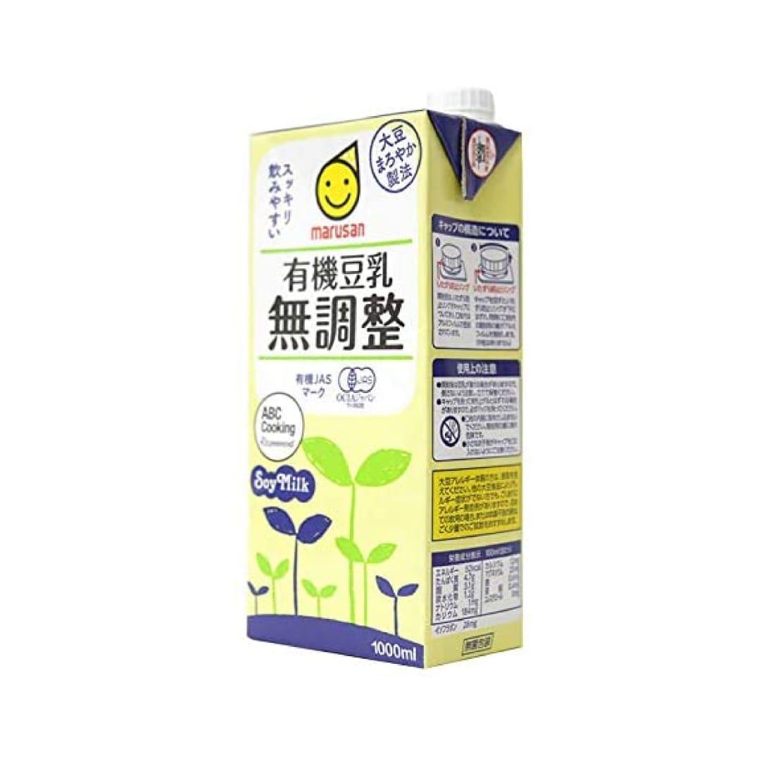 マルサン 有機豆乳 無調整 1,000ml ¥275(税込)