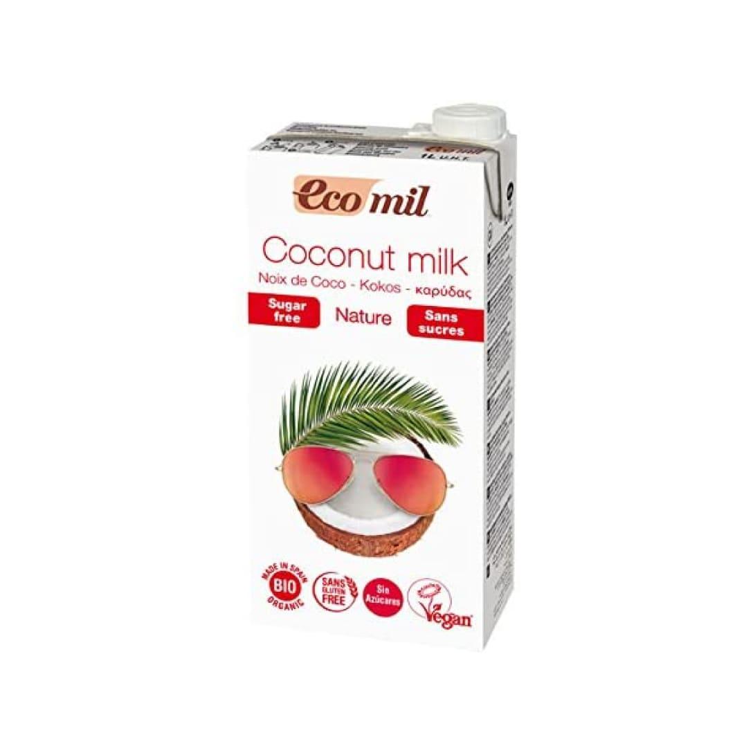 EcoMil 有機ココナッツミルク(無糖) 1,000ml ¥1,143(税込)