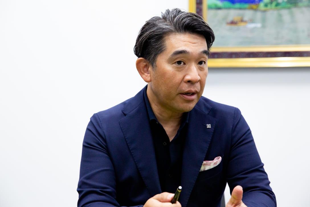 アダストリア次期社長 木村治氏 Image by FASHIONSNAP.COM