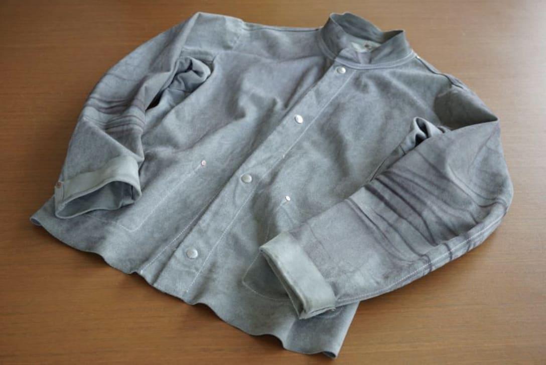 「メゾン・マルジェラ」のスエードジャケット