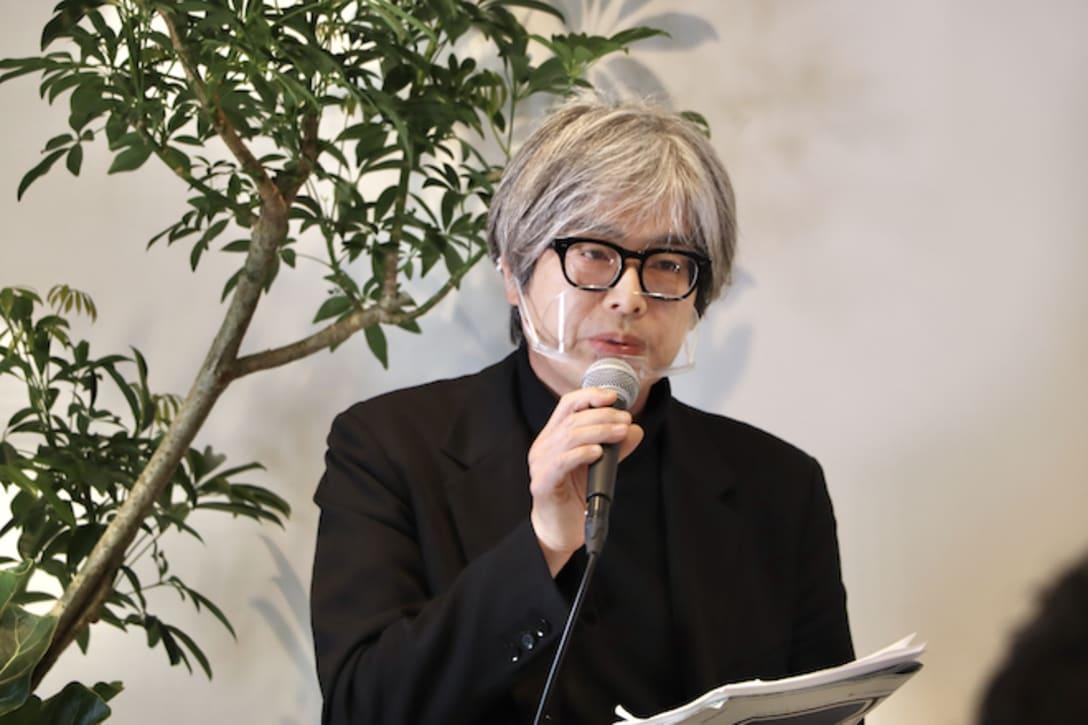 「これからよりアートがクローズアップされる世の中になる」と泉水隆氏。