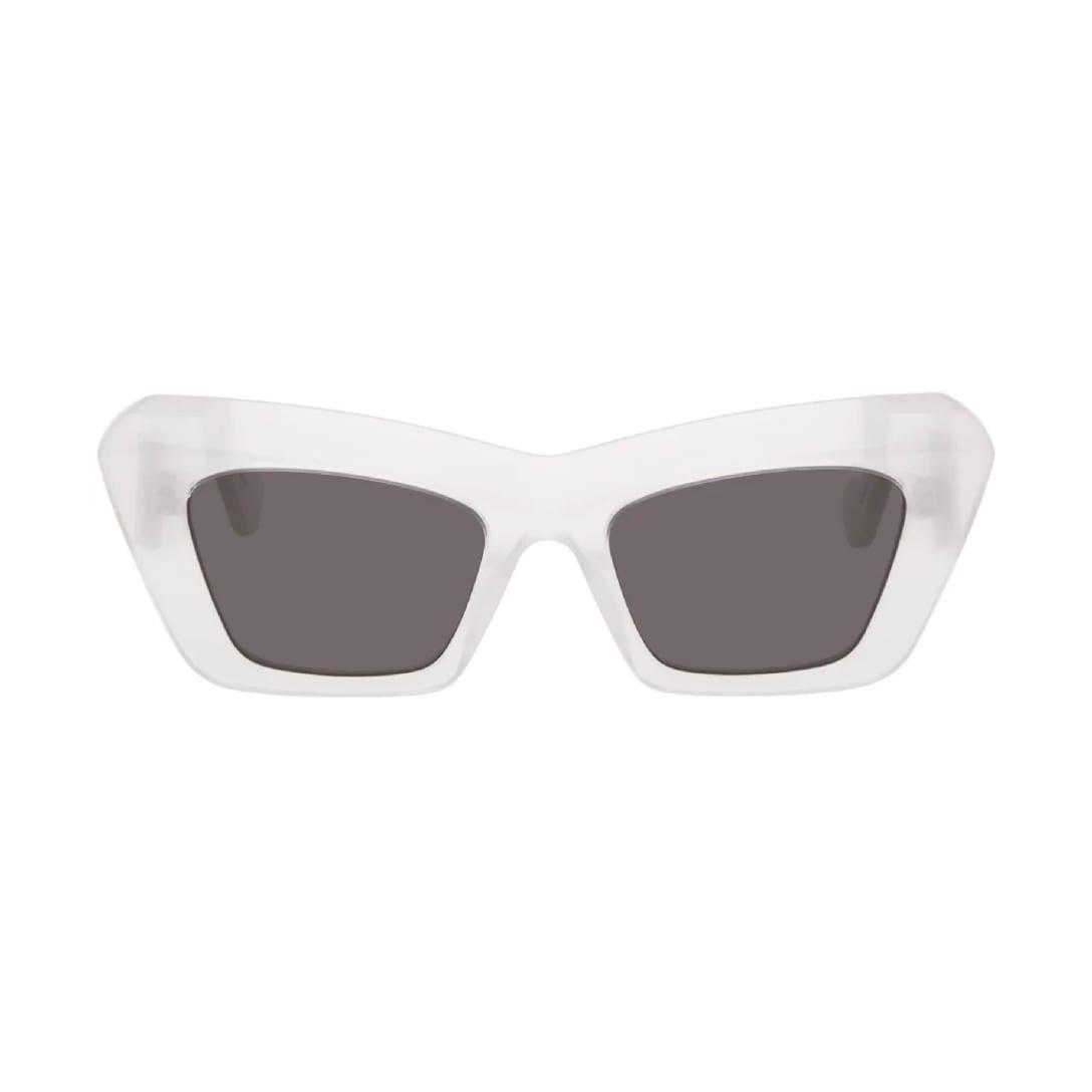 LOEWE(ロエベ)ホワイト オーバーサイズ Cat Eye サングラス $525(関税・消費税込)