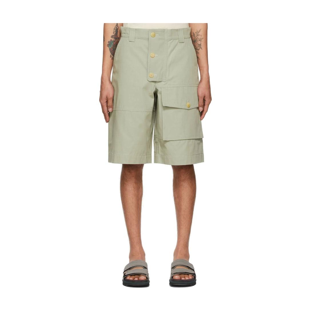 ジャックスム(JACQUEMUS)グレー Le Short Laurier ショーツ ¥49,000(関税・消費税込)
