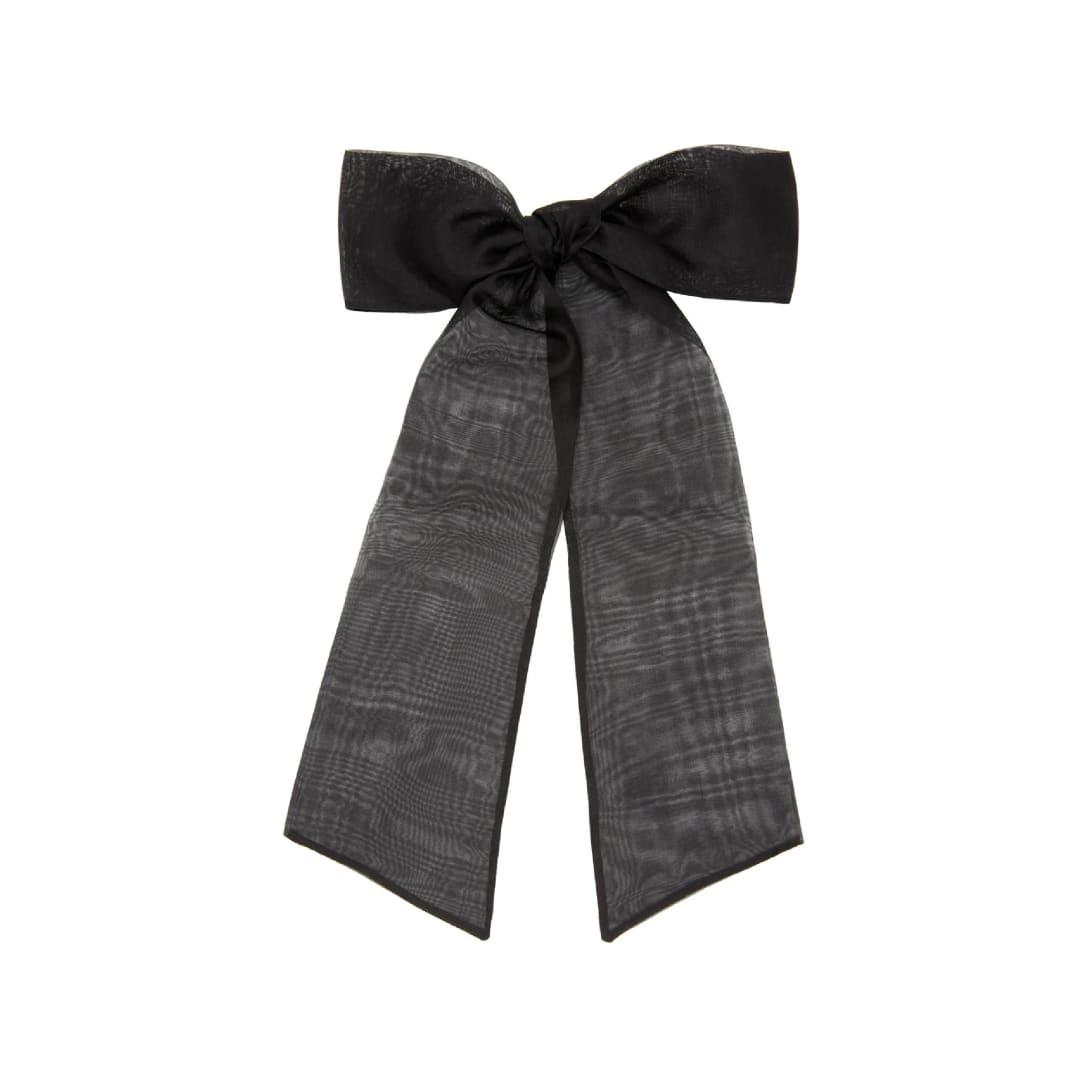 SOPHIE BUHAI ブラック オーバーサイズ ボウ ヘア クリップ ¥35500(関税・消費税込)