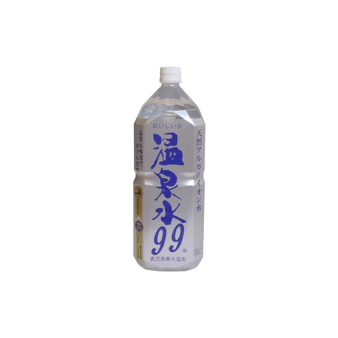 エスオーシー(SOC)温泉水99 2L×6本 2064円(消費税込)
