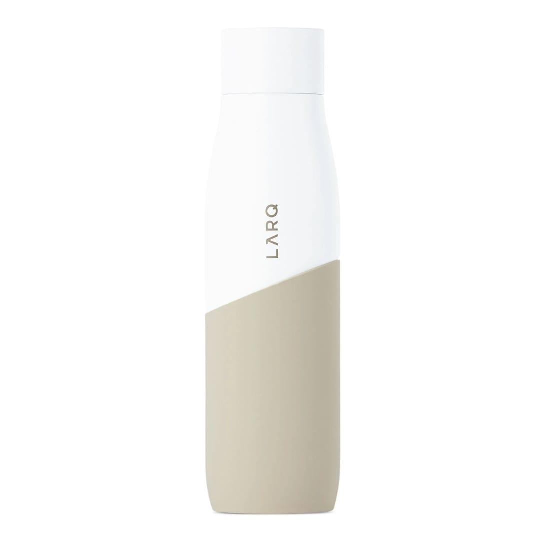 LARQ ホワイト & トープ Movement セルフクリーニング ボトル 710 ml ¥11000(関税・消費税込)