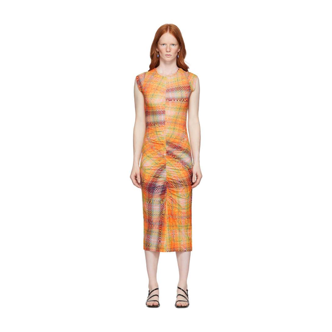 オレンジ Campo ドレス ¥13,700 (22%OFF)(関税・消費税込)